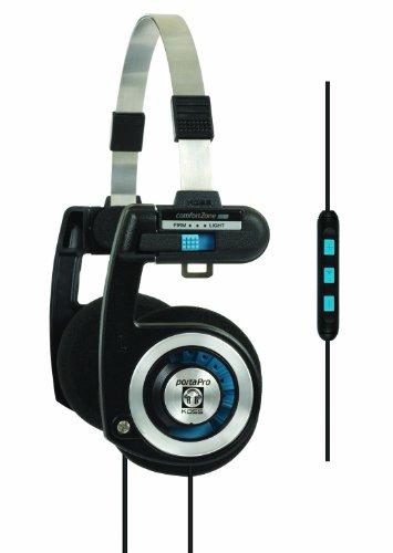 「KOSS PORTAPRO KTC(KOSS Touch Control)」iPhoneのハンズフリー通話対応シャレオツなヘッドホン