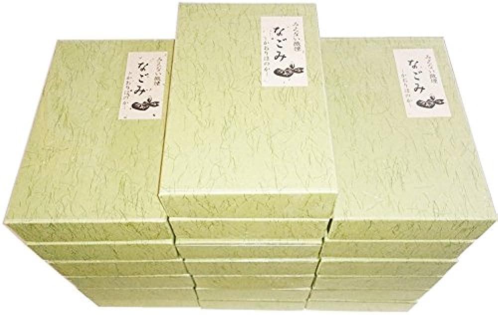 集中的なほこり必要性淡路梅薫堂の無香料お線香 なごみ 135g×16箱 #108