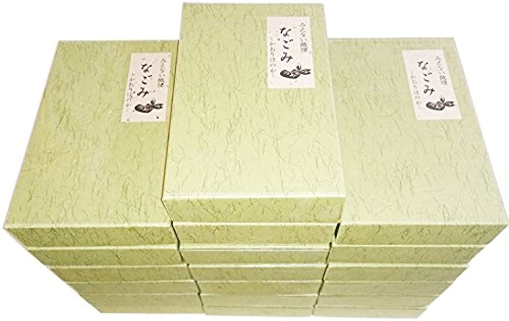 説明的国民調和のとれた淡路梅薫堂の無香料お線香 なごみ 135g×16箱 #108