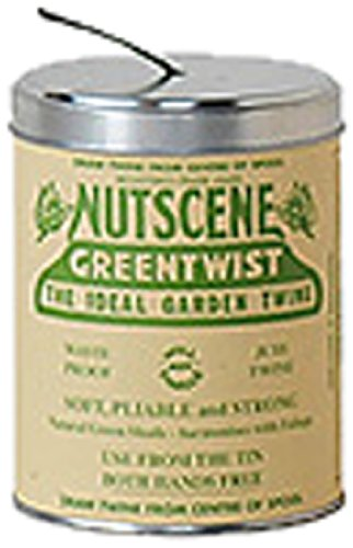 NUTSCENE(ナッツシーン) Nutscene 缶入り麻ひも Green 150m TIN250G
