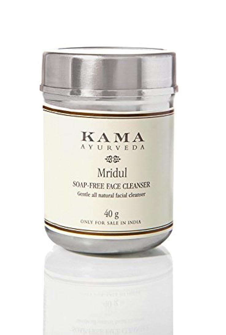 辞書上流の政府KAMA AYURVEDA カーマ アーユルヴェーダ ムリデュル ソープフリーフェイスクレンザー 100% ナチュラル Soap -Free Face Cleanser Mridu