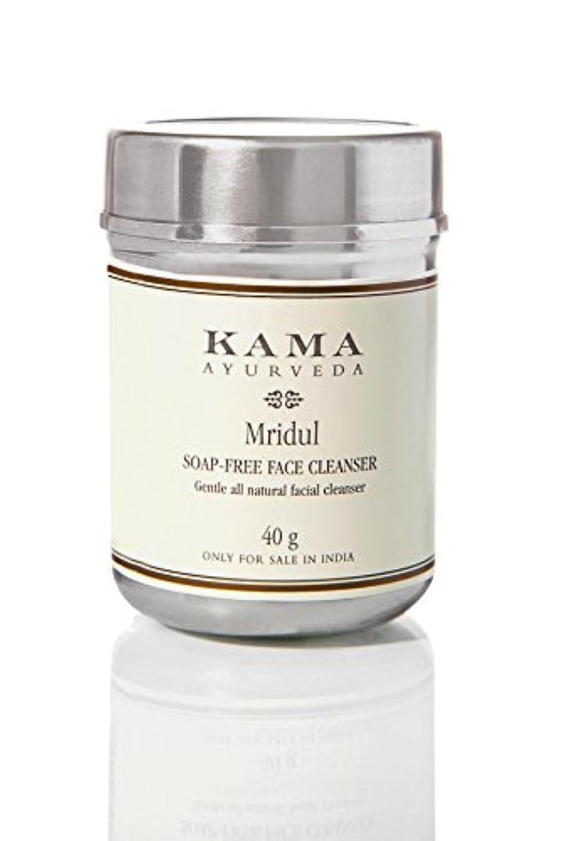 岸嫌がる間接的KAMA AYURVEDA カーマ アーユルヴェーダ ムリデュル ソープフリーフェイスクレンザー 100% ナチュラル Soap -Free Face Cleanser Mridu