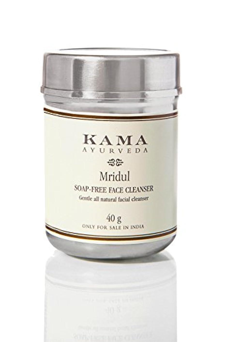 動揺させる節約包帯KAMA AYURVEDA カーマ アーユルヴェーダ ムリデュル ソープフリーフェイスクレンザー 100% ナチュラル Soap -Free Face Cleanser Mridu