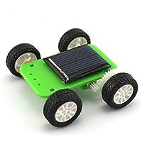 FEICHAO ミニソーラー玩具 DIYカーキット4WD車パズルIQホビーガジェットアセンブリ科学モデル子供のおもちゃ