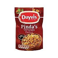 照り焼きピーナッツ | Duyvis | ピンダのピーナッツの照り焼き風味 | 総重量 225 グラム