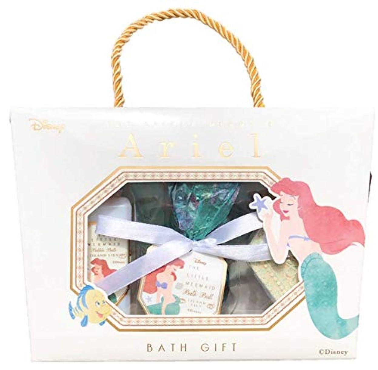ドアお嬢伝説ディズニー(Disney)SHO-BI バスギフトM ギフトセット アリエル ディズニープリンセス リトルマーメイド 入浴剤 ギフト バスギフトセット プレゼント 大人 女の子 かわいい Ariel