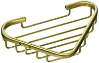 Allied真鍮ソリッドコーナーシャワーバスケット BSK-10ST-BBR 1