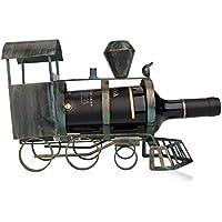 ワインスタンド ワインラック ワイン棚 メタル彫刻 実用的 インテリア装飾 工芸品 (列車)