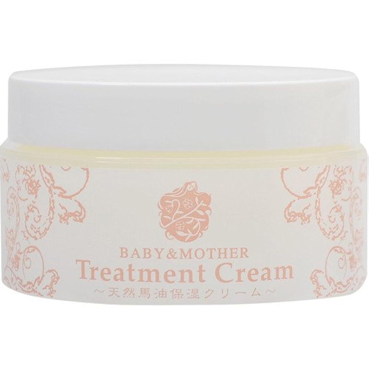 医学理容室入り口BABY&MOTHER Treatment Cream 天然馬油保湿クリーム 80g