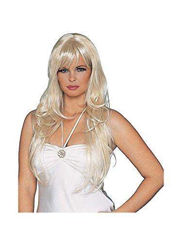 『デラックス セクシー ドリームガール 金髪ウィッグ Adult Std. 091346728116』のトップ画像