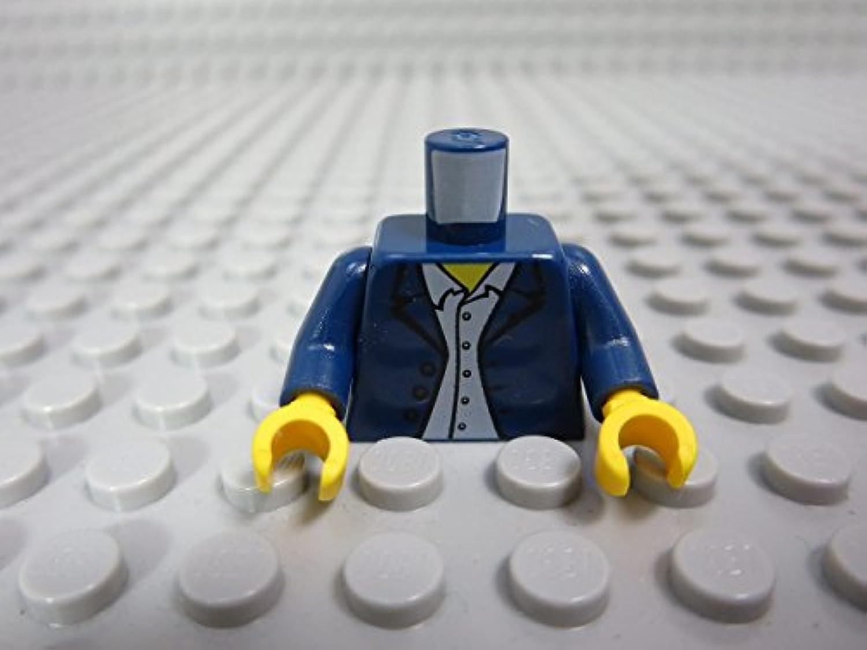 レゴ ミニフィグ 【トルソー】 333_Dark Blue