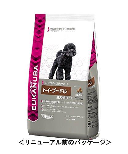 ユーカヌバ 犬種別サポート トイ・プードル成犬用1歳以上 2.7kg