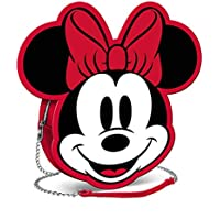 Minnie Mouse Face Red Shoulder Bag