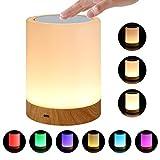 Elecstars テーブルランプ ナイトライト LED 授乳 ライト 充電 デスクライト タッチ式 ベッドサイドランプ 母の日プレゼント