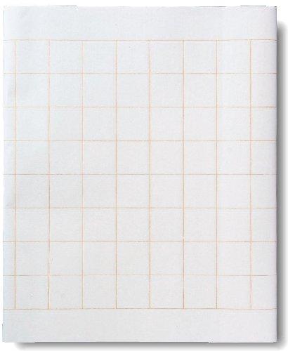 [해외]반올림 사경 용지 흰색 칸/Half transcription paper white mass