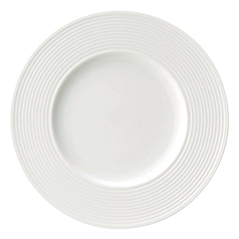 業務用食器 リベラ ディナー皿 27cm ホワイト 80700402