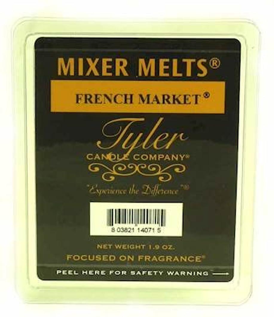 リットルシード正統派Tyler Candles Mixer Melts - French Market by Tyler Company