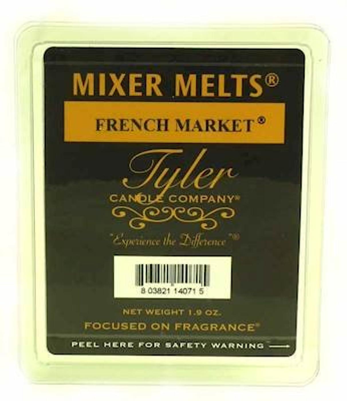 ドアキャッチ歩き回るTyler Candles Mixer Melts - French Market by Tyler Company