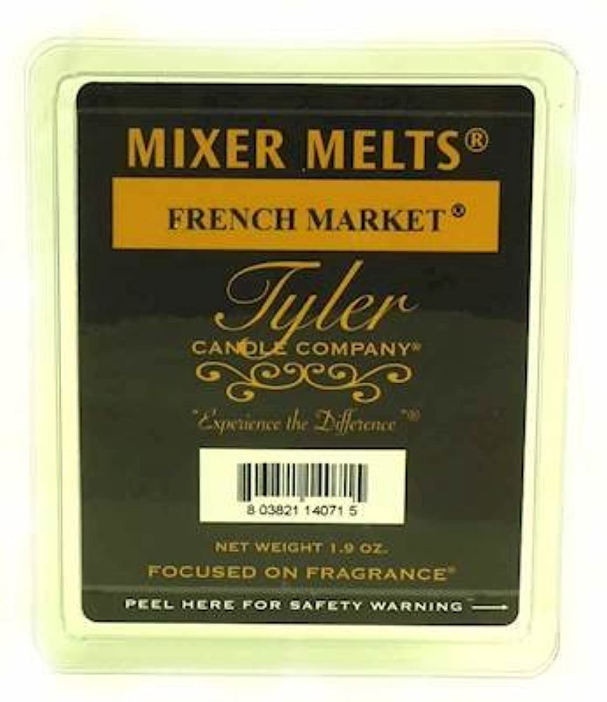 十億属するバッテリーTyler Candles Mixer Melts - French Market by Tyler Company
