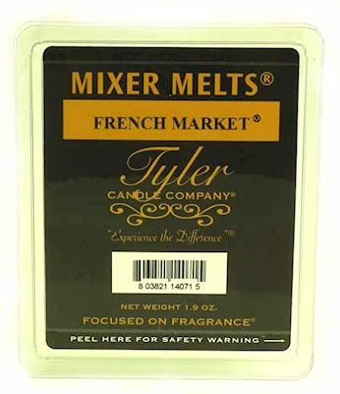 ナインへ統合する疑問に思うTyler Candles Mixer Melts - French Market by Tyler Company