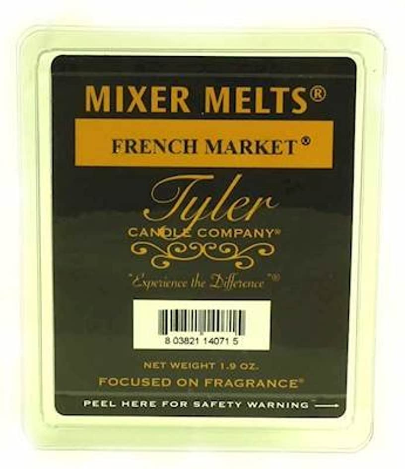 従順なコンピューターを使用する摂氏Tyler Candles Mixer Melts - French Market by Tyler Company