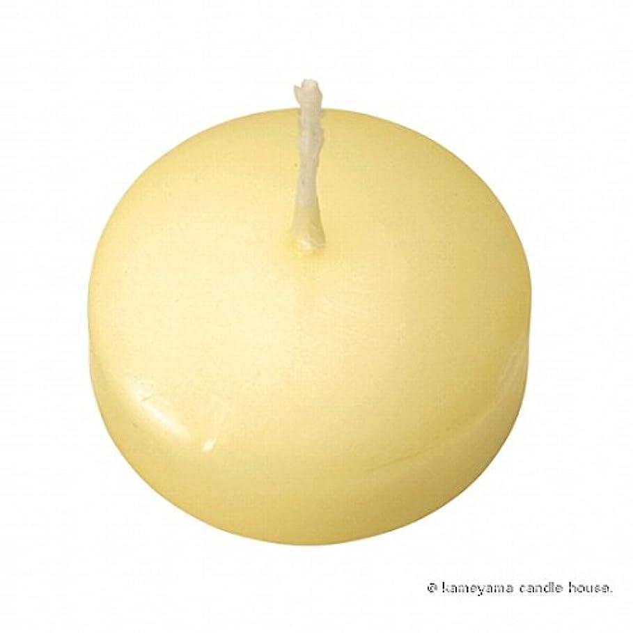 ベール悲しみデザートカメヤマキャンドル( kameyama candle ) プール50 「 アイボリー 」 12個入り