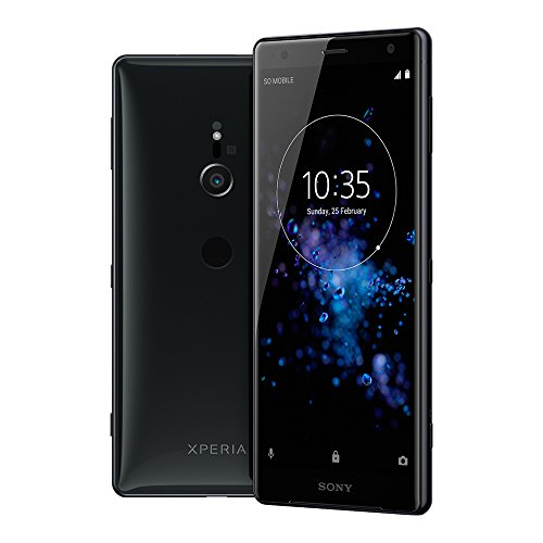 Sony Xperia XZ2 (H8296) 6GB / 64GB 5.7-inches LTE Dual SIM Factory Unlocked sim free (Liquid Black)