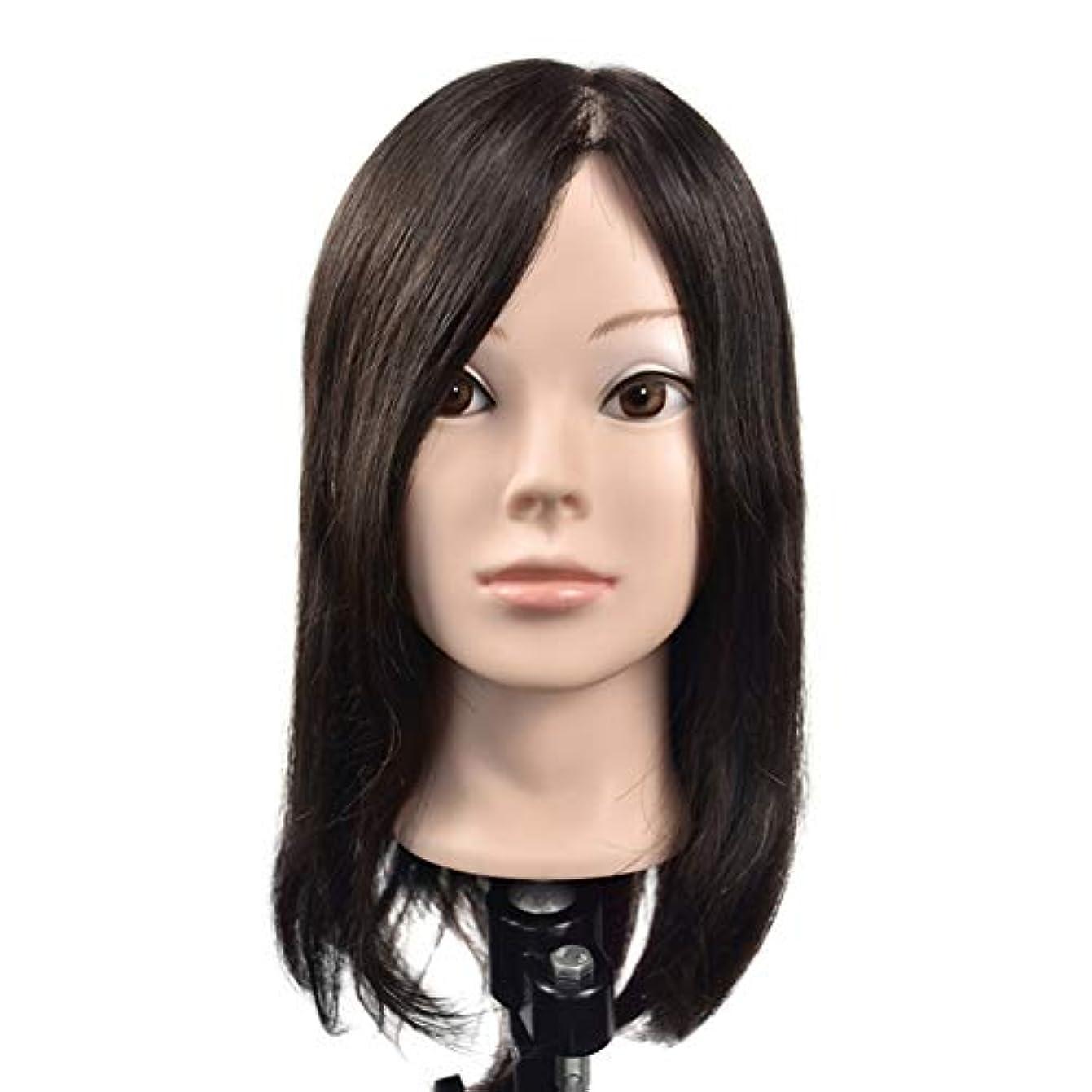 君主インディカ悲劇的なリアルヘアースタイリングモデルヘッド女性モデル頭ティーチングヘッド理髪店編組髪染め学習ダミーヘッド