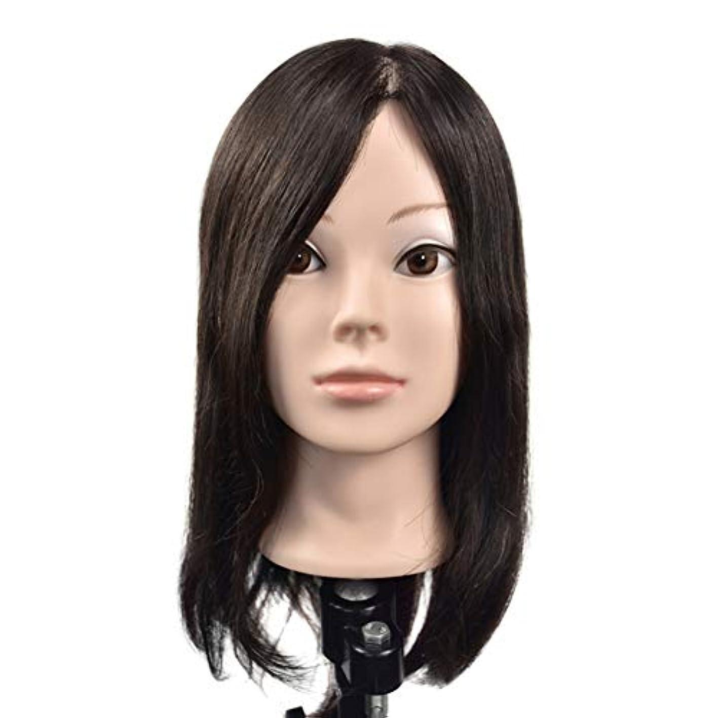 パイ問い合わせる興味リアルヘアースタイリングモデルヘッド女性モデル頭ティーチングヘッド理髪店編組髪染め学習ダミーヘッド