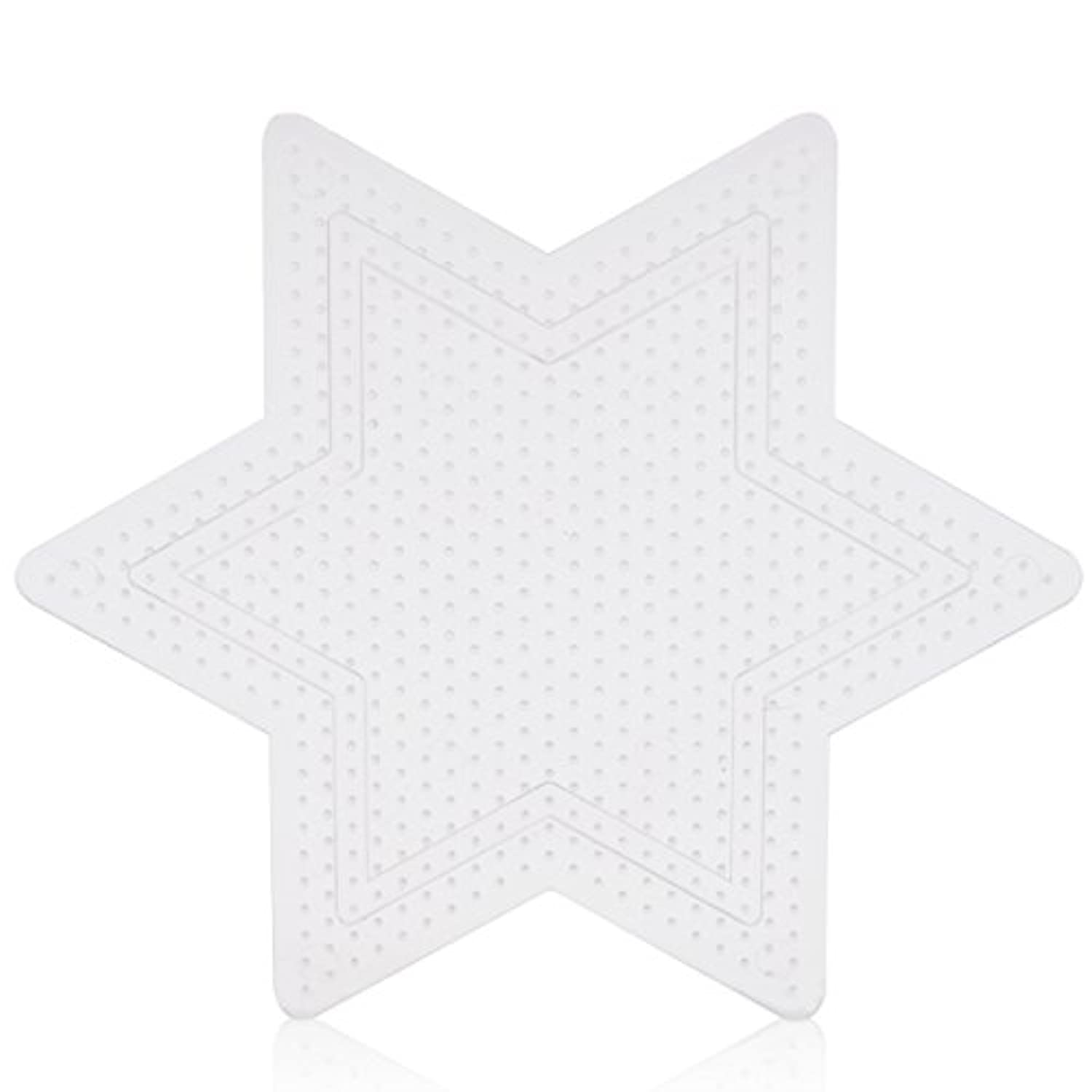 2.6mm beads small star pegboard for mini artkal fuse beads CP04