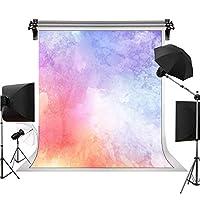 カラーインク背景 写真撮影用背景幕 ファッションパーティー 写真装飾 6X9FT STS LXST411