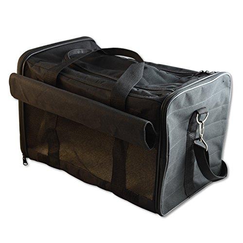 PetsN'all ソフトケージ ペットキャリー バッグ【猫と小型犬の持ち運びに・開閉できるメッシュ構造・ポータブルケージ】7㎏まで対応