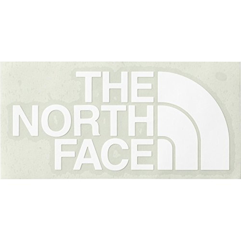 THE NORTH FACE(ノースフェイス) TNFカッティングステッカー NN88106 ホワイト