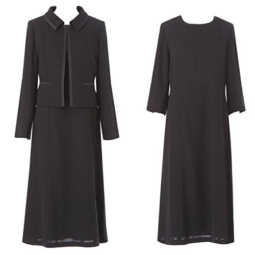 (アンジェリカ)Angelica N50170 15号 ブラックフォーマル ワンピース 喪服 ワンピース 礼服 ワンピース ブラックフォーマル 50代 ブラックフォーマル 60代