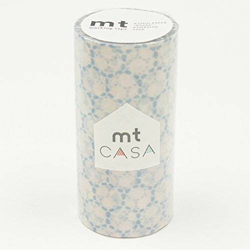 RoomClip商品情報 - カモ井加工紙 マスキングテープ mt CASA 100mm幅×10m巻き レース・コットン MTCAS015