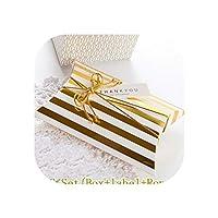 10ピースギフトボックス糖衣錠Bonbonniere枕形誕生日包装パーティープレゼントボックス甘い結婚式の好意ボックスキャンディクッキー,10PC Stripe Set
