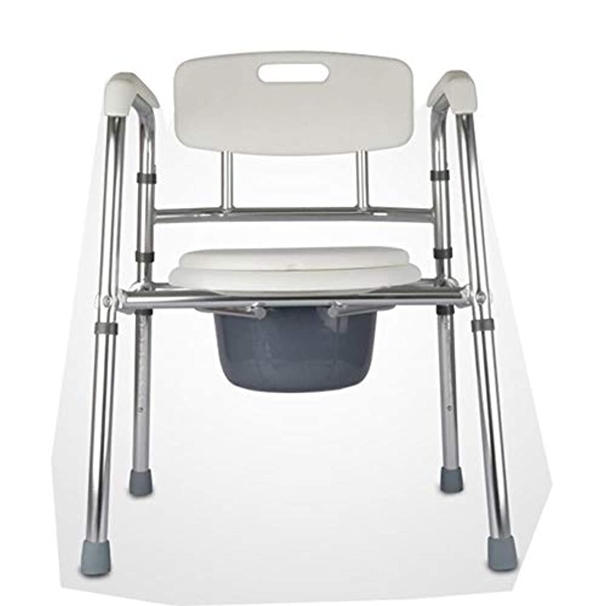 装置徐々に研究折りたたみ式mode椅子とトイレサラウンド、軽量、丈夫、シンプル、高齢者、障害者、祖父母向けのバスルームサポート
