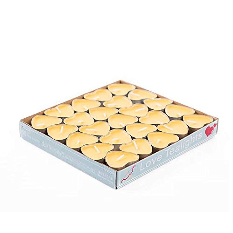 でもコース喉が渇いたHwagui 心の形 アロマキャンドル キャンドル アロマキャンドル キャンドル バターキャンドル 温かいお茶キャンドル 香りのキャンドル ギー ティーワックス 50個 2時間 ZH006