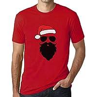 Ultrabasic - Graphic Men's Funny Santa Cool Christmas T-Shirt Gift Tee