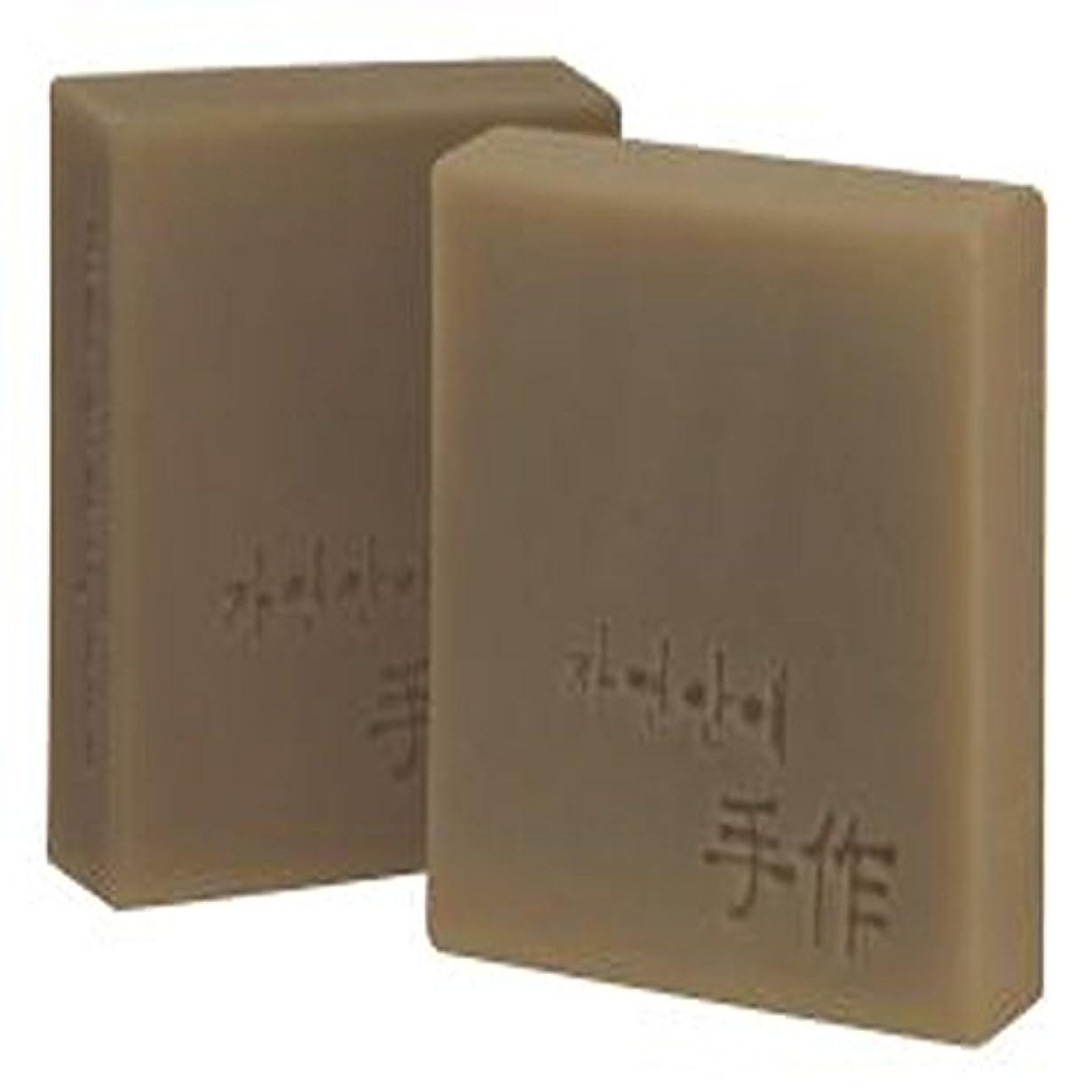 つぶやきリットルNatural organic 有機天然ソープ 固形 無添加 洗顔せっけんクレンジング [並行輸入品] (トサジャ)