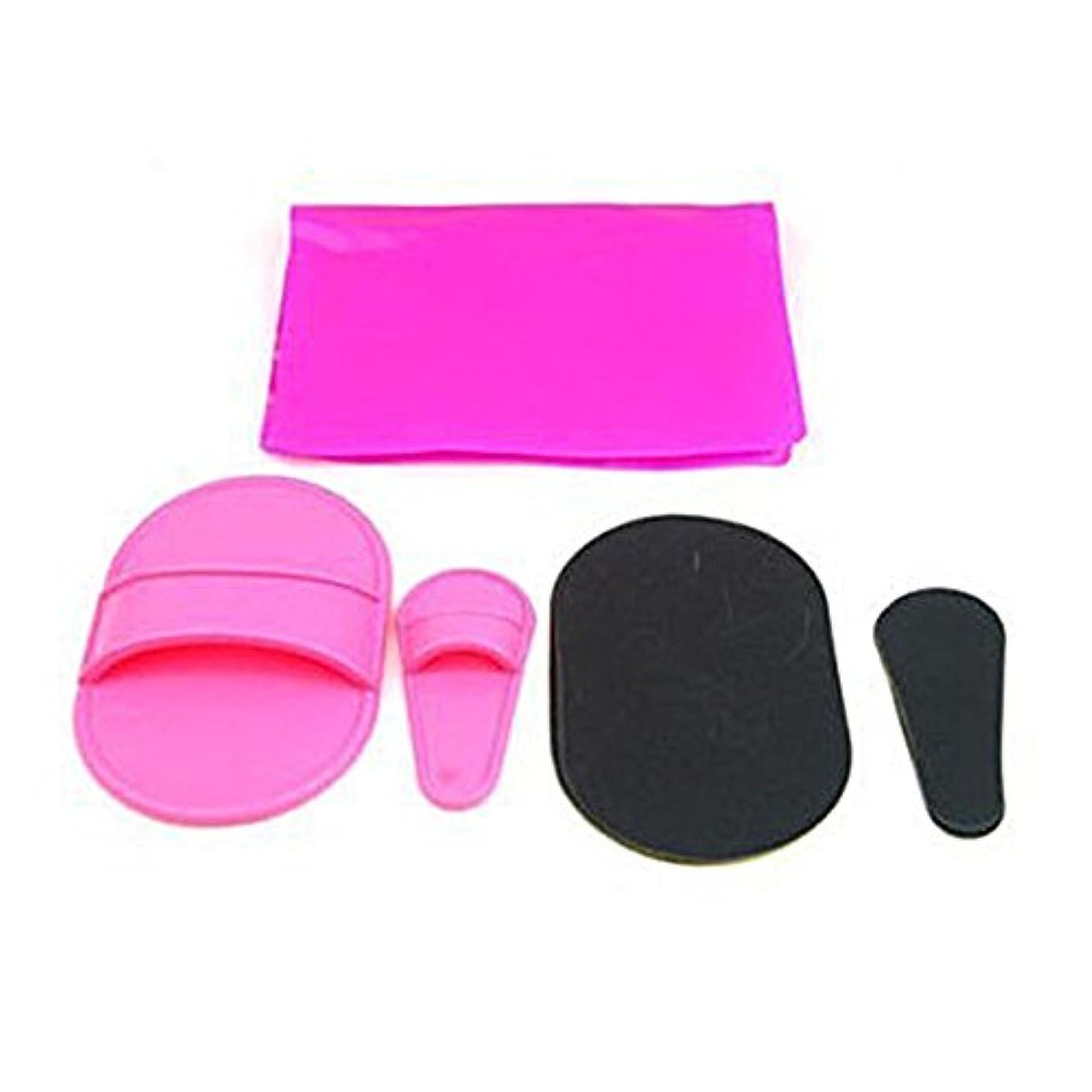 割る一ストレンジャー携帯用小型毛の除去剤のボディローションの滑らかな皮への滑らかなフィートのパッドの脱毛剤