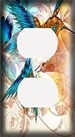 抽象Hummingbird装飾コンセントカバー