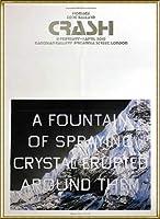 ポスター エドワード ルッシェ Fountain of Crystal 2009 額装品 アルミ製ハイグレードフレーム(ゴールド)