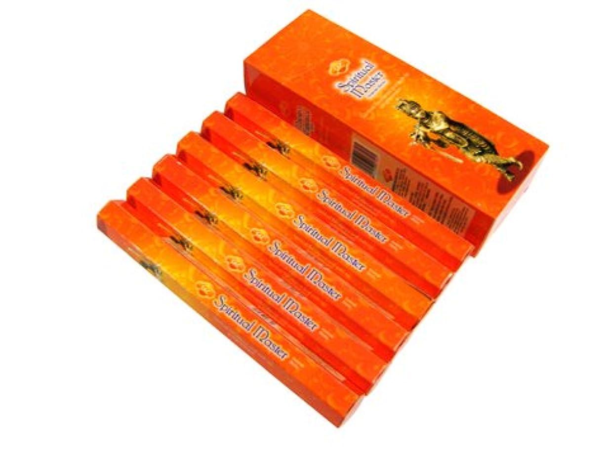 穀物糞聖職者SANDESH SAC (サンデッシュ) スピリチュアルマスター香 スティック SPIRITUAL MASTER 6箱セット