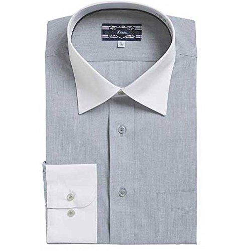 (ブルーム) BLOOM ジーベック XEBEC 長袖ワイシャツ クレリックyシャツ S/M/L/LL/3L/4L 2柄