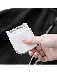 Wei Zhe- ファブリックシェーバー - リントリムーバーポータブル服シェーバートラベルキャリングポーチ 携帯用かみそり (色 : 白)
