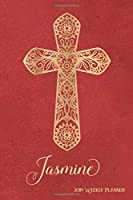 2019 Weekly Planner, Jasmine: Personalized 90-page Christian Planner with Monthly and Annual Calendars and Weekly Planner Pages
