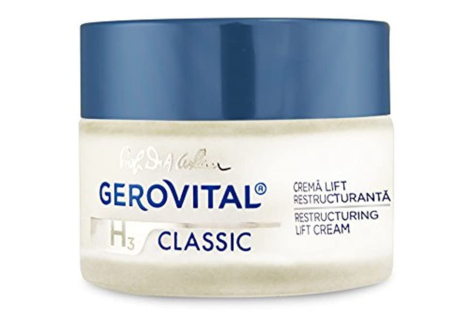 繁殖実質的に忘れられないジェロビタール H3 クラシック リストラクト ナイトリフトクリーム 50 ml / 1.69 fl.oz. [海外直送]
