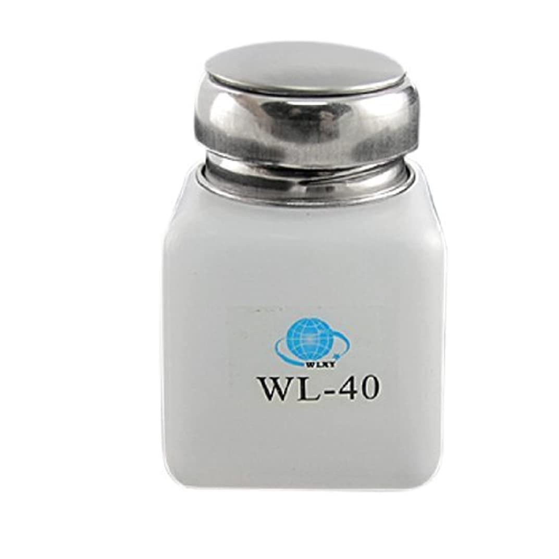 膨らませる緩める可能にするDealMux白100ML容量逆流防止アルコールボトル容器
