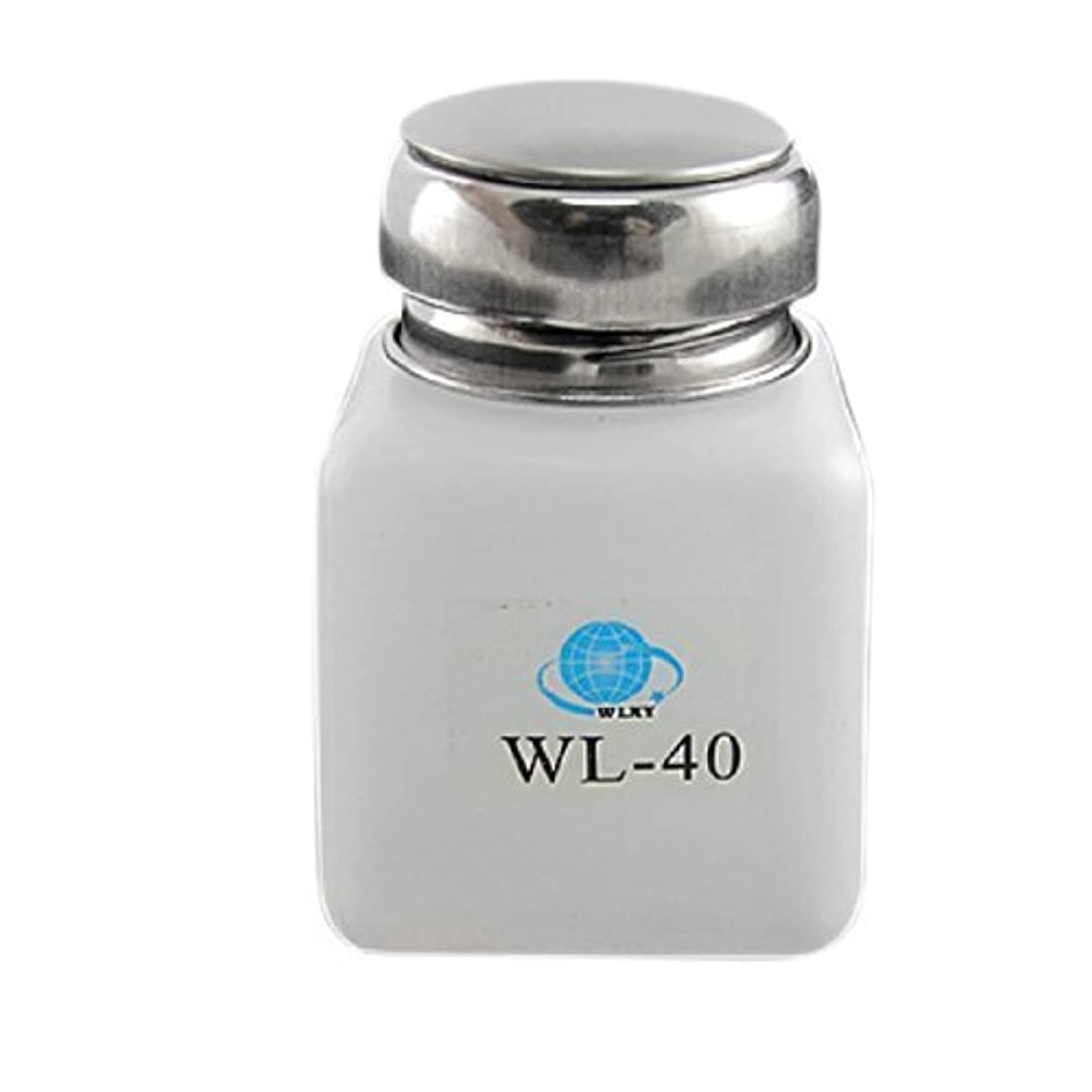 観点柔和プロフェッショナルDealMux白100ML容量逆流防止アルコールボトル容器